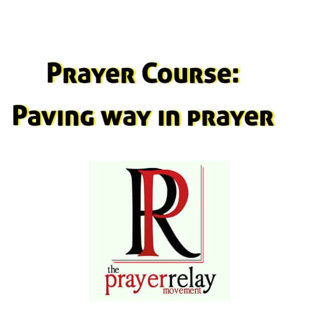 paving way in prayer
