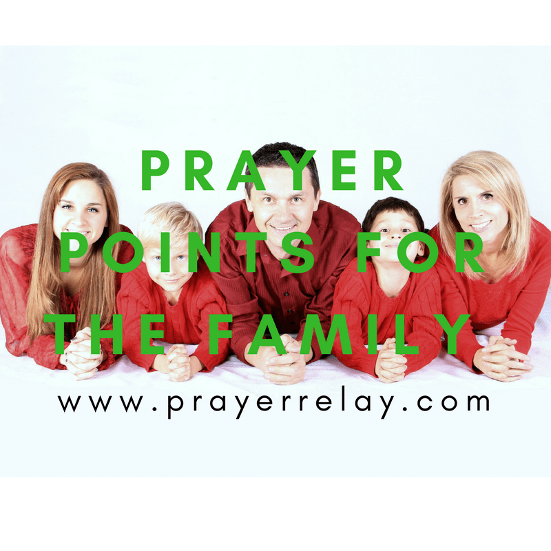 Prayer for Family: More Than 35 Wonderful Points - The
