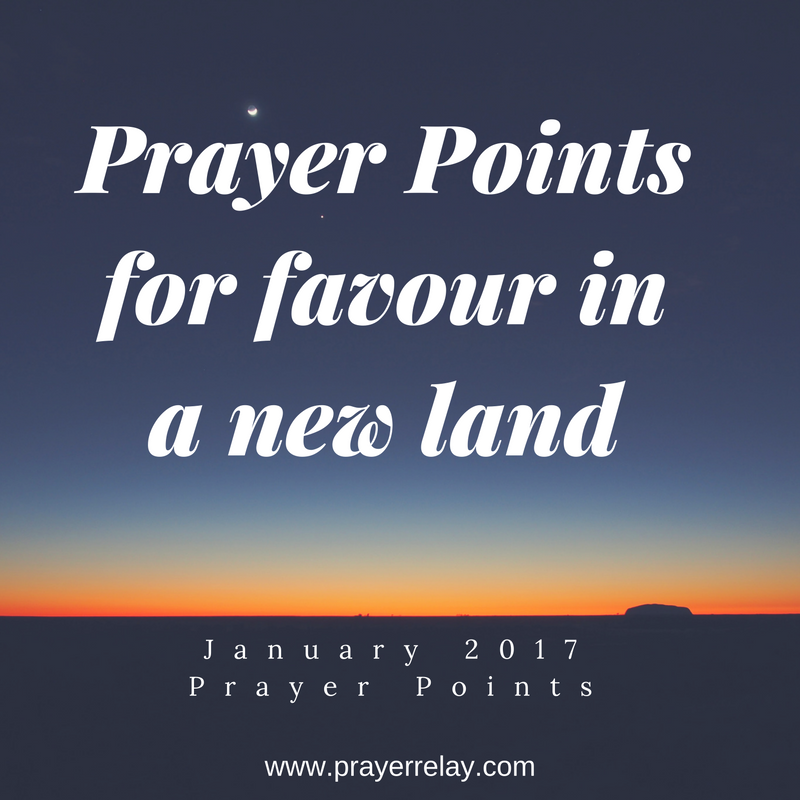 Prayer Points for favour