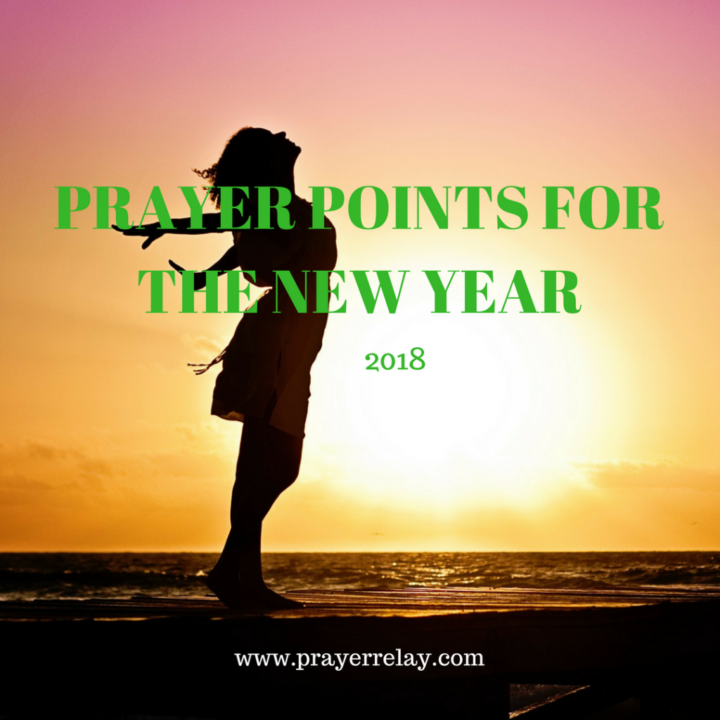 PRAYER POINTS FOR THE NEW YEAR