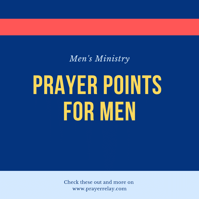 Incredibly Important Prayer for Men Prayer Points - The