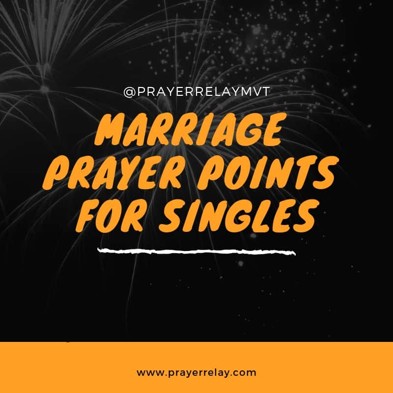 3 Powerful Wedding Prayers and 18 Marriage Prayer Points for