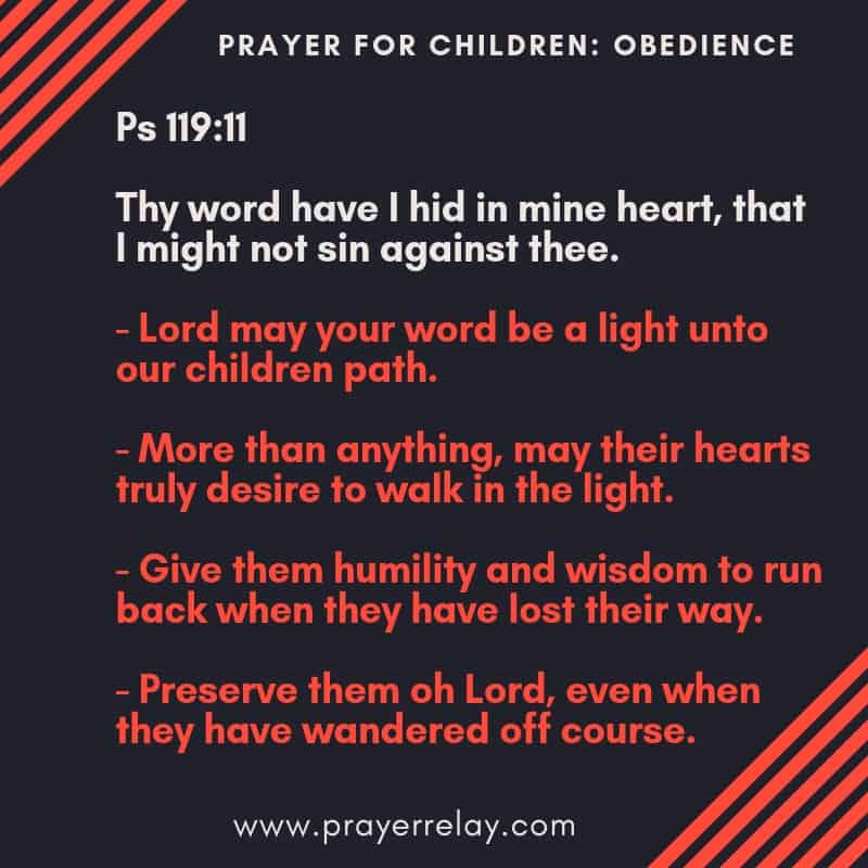 79 Powerful Biblical PRAYER FOR CHILDREN POINTS - The Prayer