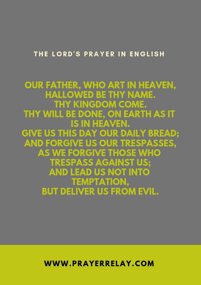 The Lord's prayer: The Ultimate Guide +7 Languages - The