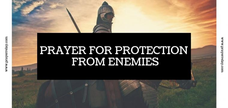 Prayer for Protection from Enemies