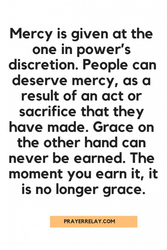The Key Difference Between Grace and Mercy 2