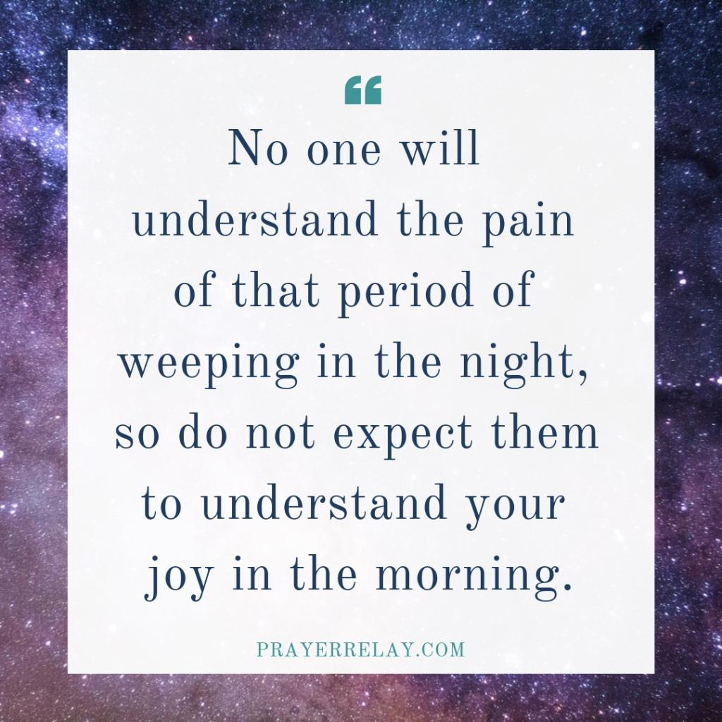 Joy Comes in the Morning: How to Endure the Night 5